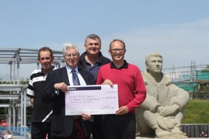 Battle of Britain Memorial cheque presentation